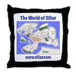 The World of Siliar Throw Pillow