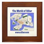 The World of Siliar Framed Tile