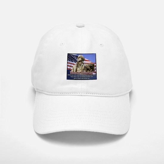 Thomas Jefferson quotes Baseball Baseball Cap