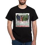 Irish Brigade flags Black T-Shirt