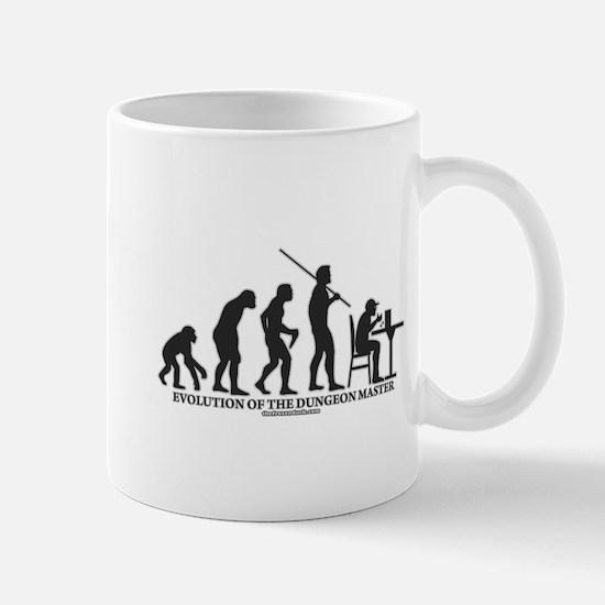 Evolution of the DM Mug