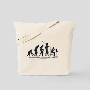 Evolution of the DM Tote Bag