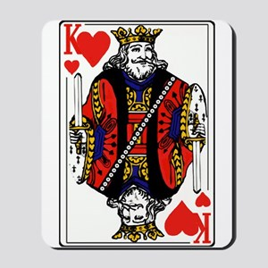 King of Hearts Mousepad
