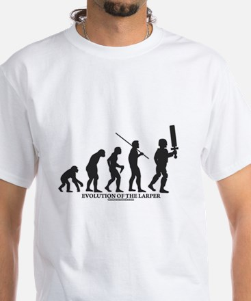 Evolution of the LARPer White T-Shirt