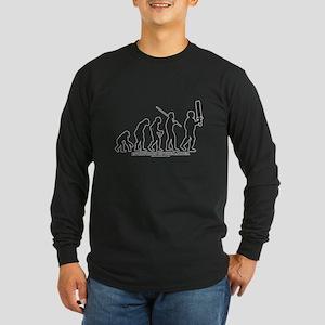 Evolution of the LARPer Long Sleeve Dark T-Shirt