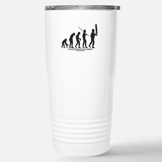 Evolution of the LARPer Stainless Steel Travel Mug