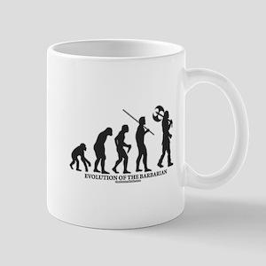 Evolution of the Barbarian Mug