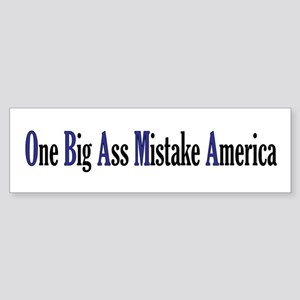 Obama Mistake Bumper Sticker