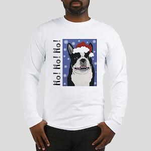 Boston Santa Long Sleeve T-Shirt