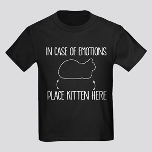 In Case Of Emotions Place Kitten Here T Sh T-Shirt