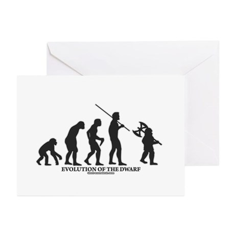 Evolution of the Dwarf Greeting Cards (Pk of 20)