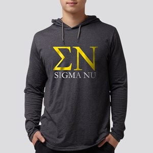 Sigma Nu Letters Long Sleeve T-Shirt