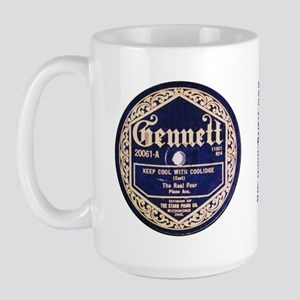 Gennett Records Large Mug