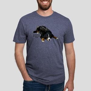 Bernese Rug Pose - Ash Grey T-Shirt