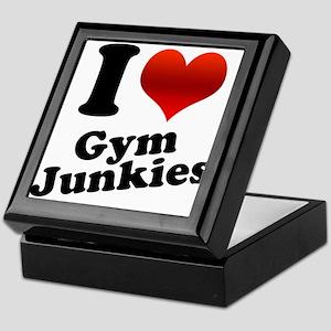 I Heart Gym Junkies Keepsake Box