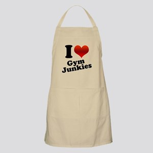 I Heart Gym Junkies BBQ Apron