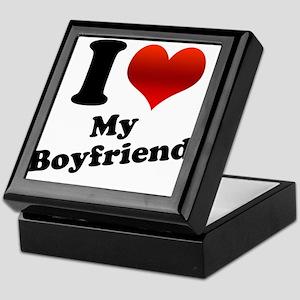 I Heart (Love) My Boyfriend Keepsake Box