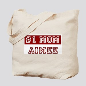 Aimee #1 Mom Tote Bag