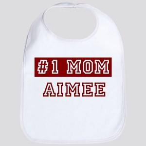 Aimee #1 Mom Bib