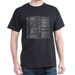 emacs reference t-shirt (black)