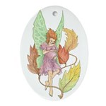 Autumn Expectations Oval Ornament