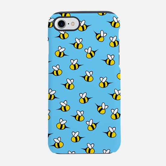 bees_8x12.png iPhone 7 Tough Case