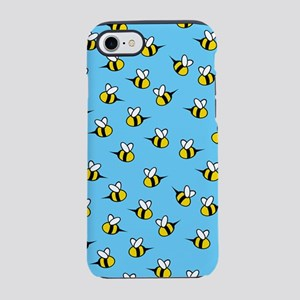 bees_8x12 iPhone 7 Tough Case
