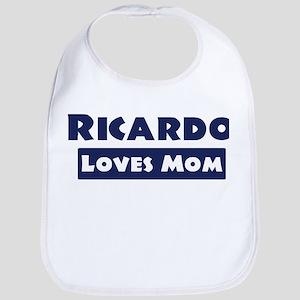 Ricardo Loves Mom Bib