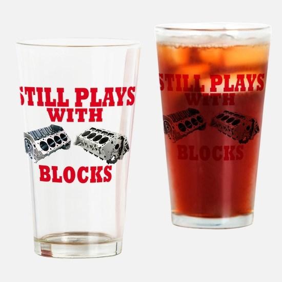Cool Blocks Drinking Glass