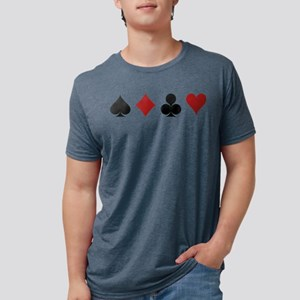Four Card Suits T-Shirt