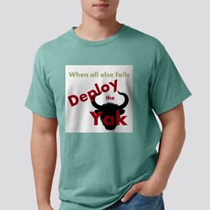 Deploy The Yak Men's Fitted T-Shirt