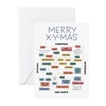 Merry X-Y-Mas Greeting Cards (20)