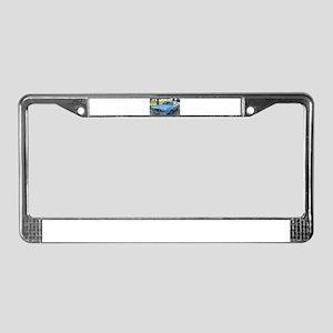 73 Cougar License Plate Frame