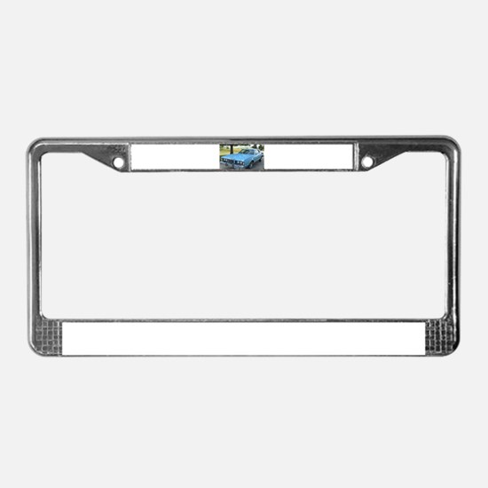 73 Cougar License Plate Frame