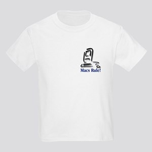 Macs Rule! Kids Light T-Shirt
