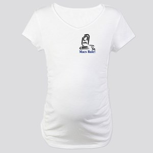 Macs Rule! Maternity T-Shirt