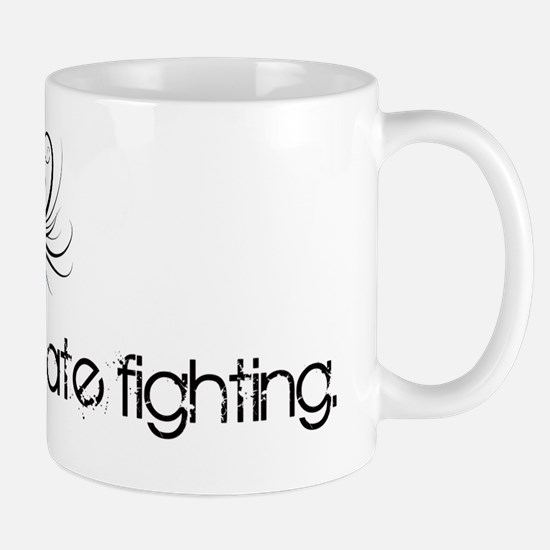 I love pirate fighting Mug