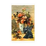 Vase / Scottie (blk) Sticker (Rectangle 10 pk)