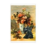 Vase / Scottie (blk) Mini Poster Print