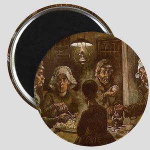 "Van Gogh Potato Eaters 2.25"" Magnet (10 pack)"