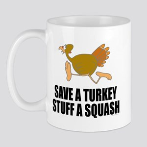 Vegetarian Thanksgiving Mug