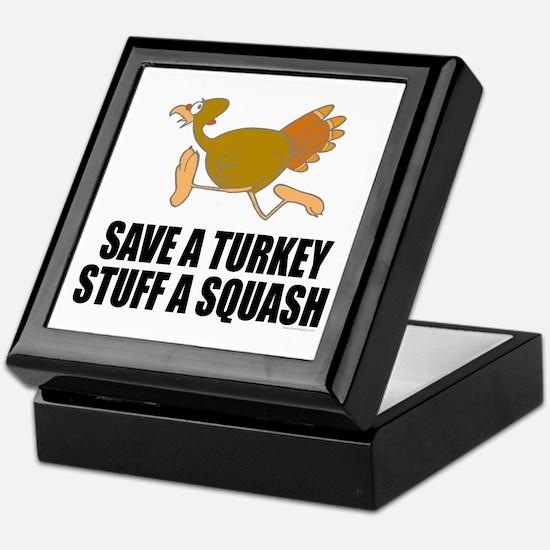 Vegetarian Thanksgiving Keepsake Box