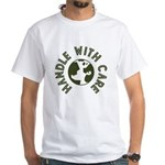 Handle With Care White T-Shirt