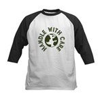 Handle With Care Kids Baseball Jersey
