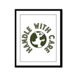 Handle With Care Framed Panel Print