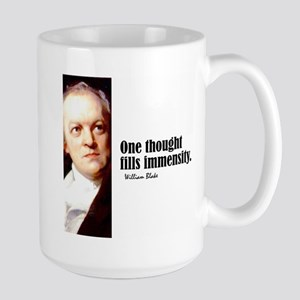 "Blake ""One Thought"" Large Mug"