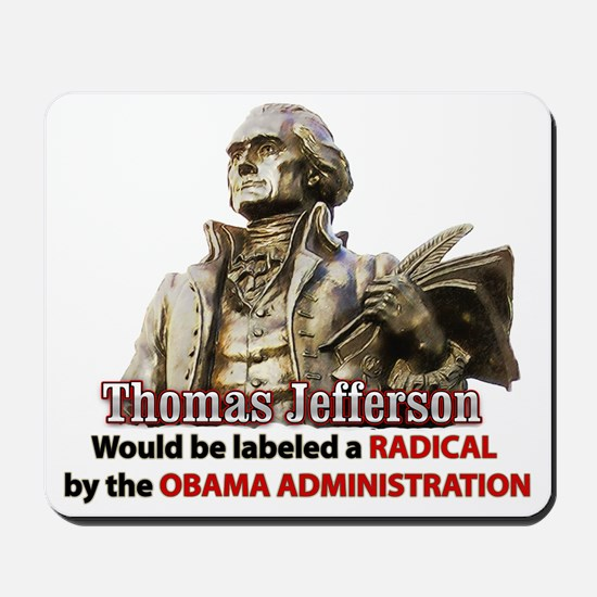 Thomas Jefferson founding father Mousepad