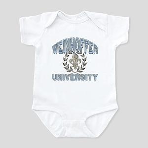 Weinhoffer Last Name University Infant Bodysuit