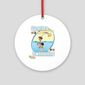 Synchro Stars 3 Ornament (Round)