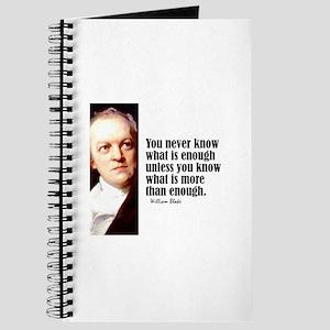 """Blake """"Enough"""" Journal"""